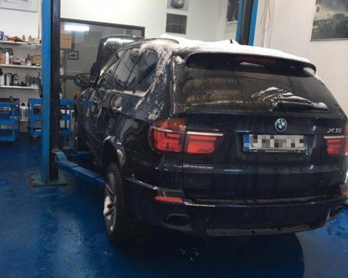 Cardan mic rupt, baie de ulei sparta – BMW X5 E70 40d