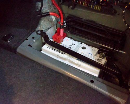 Inlocuire baterie BMW e60 535d