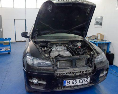 Inlocuire segmenti si garnituri distributie BMW X6 5.0i