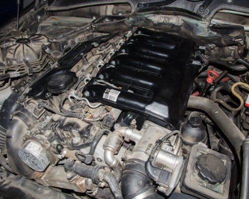 Inlocuire galerie admisie – inlocuire placute fata – inlocuire garnituri turbo – BMW e60 530xd