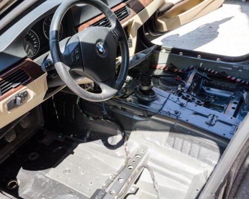 BMW 320d e90 inundat