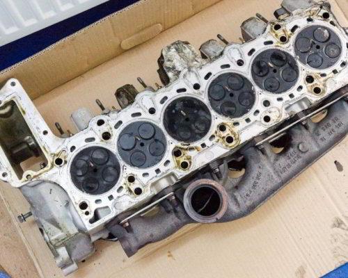 BMW 530d e61 apa motor prin admisie