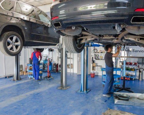 Diagnosticare cutie automata BMW 730i