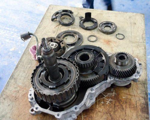 Reparatie cutie transfer BMW 740d
