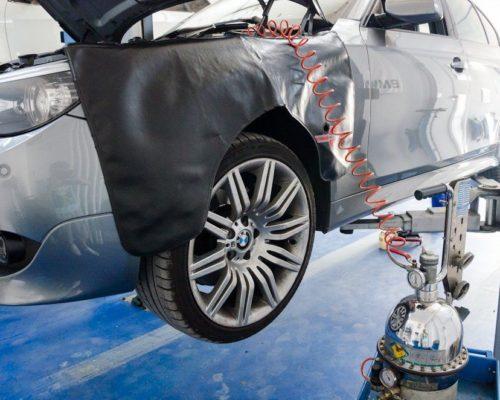 Schimb lichid frana BMW e60 535d