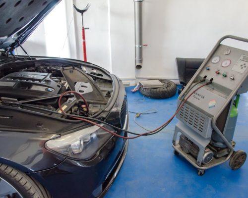 Diagnosticare sistem climatizare – compresor clima BMW 730i F01 biturbo