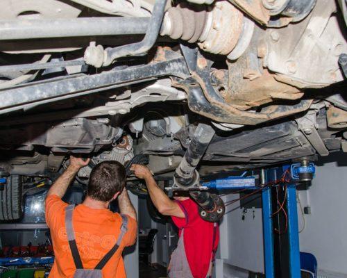 Demontare – diagnosticare – reparatie cutie transfer BMW X3 e83