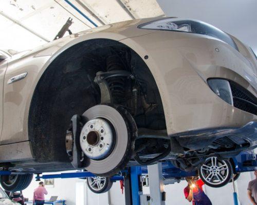 Inlocuire flanse amortizoare fata BMW 530d F10 – seria 5