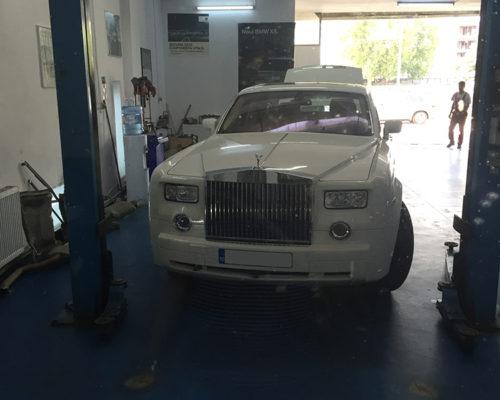 Inlocuire alternatoare Rolls-Royce Phantom 6.7l