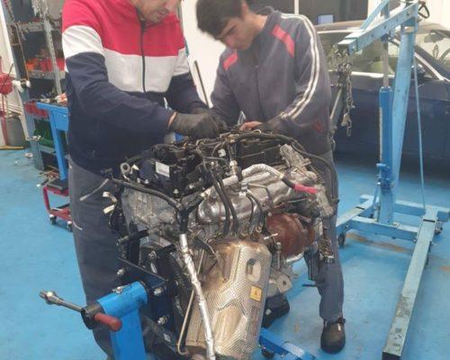 Reparatie motor + inlocuire pompa de injectie - BMW 520d LCI B47