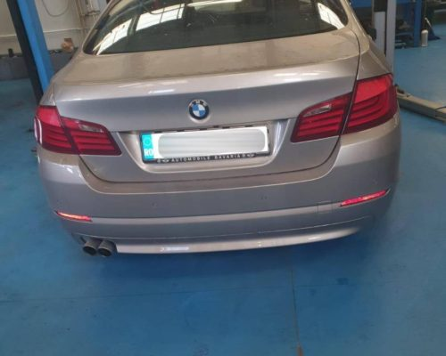 Instalare retrofit kit soft close BMW 650i F13